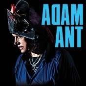 Adam Ant Friend or Foe Boston Concert Show Tickets