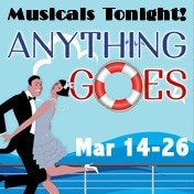 Anything Goes Musicals Tonight Off Broadway Show Tickets