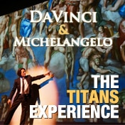 DaVinci and Michelangelo Titans Experience Off Broadway Show Tickets