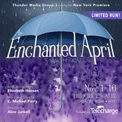 Enchanted April Musical Off Broadway Show Tickets