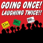 Going Once Laughing Twice Off Broadway Play Tickets