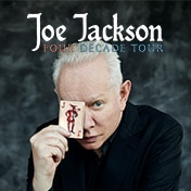 Joe Jackson Tour Boston Show Tickets