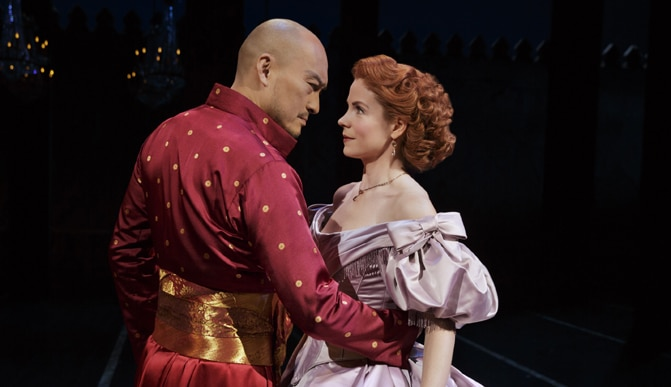 King and I Broadway Musical Revival; Photo by Paul Kolnik