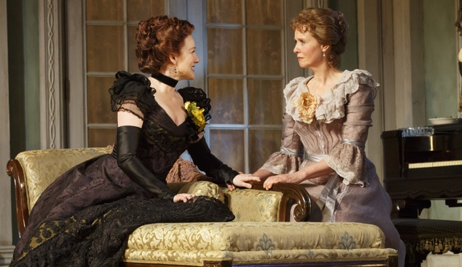 Lillian Hellmans Little Foxes Play Laura Linney Cynthia Nixon MTC Broadway Show Tickets