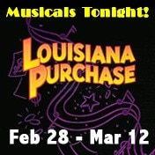 Louisiana Purchase Musicals Tonight Off Broadway Show Tickets