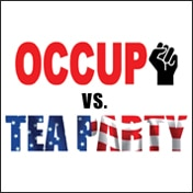 Occupy vs Tea Party Tickets
