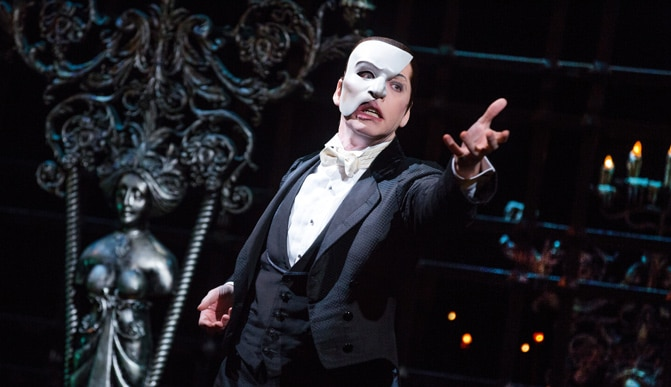 Phantom of the Opera Broadway Tickets; Photo by Matthew Murphy