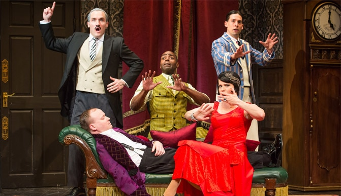 Play That Goes Wrong Broadway Show Tickets
