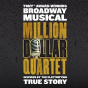 Million Dollar Quartet Boston Show Tickets
