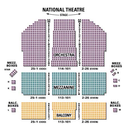 Chicago washington dc tickets seating chart across the usa